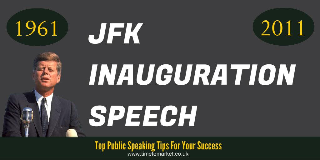 JFK inauguration speech