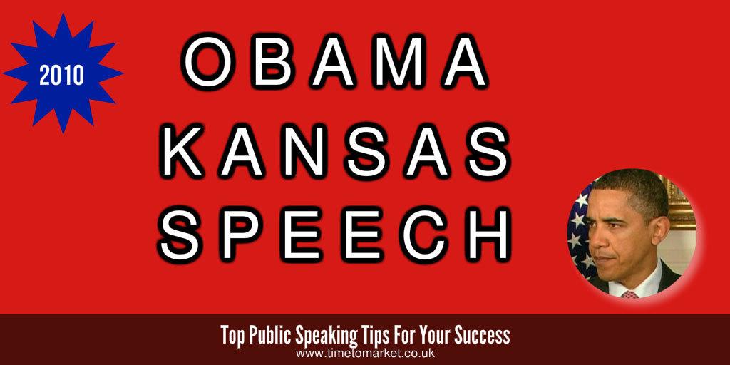 Obama Kansas speech
