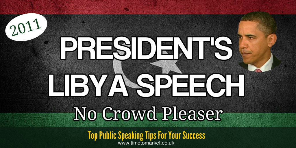 President's libya speech