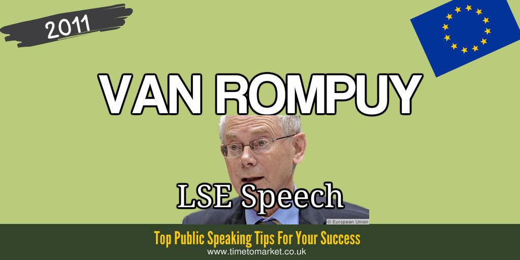 Rompuy LSE speech