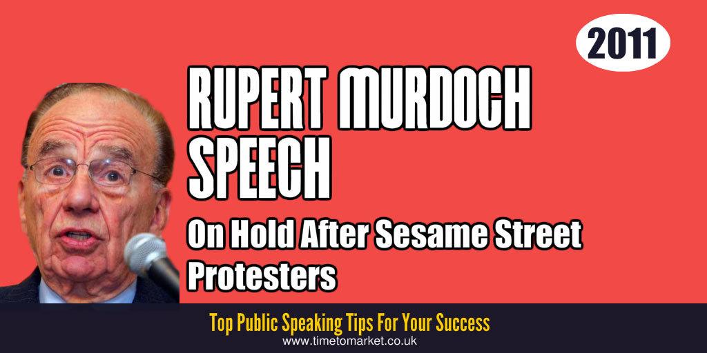 Rupert murdoch speech