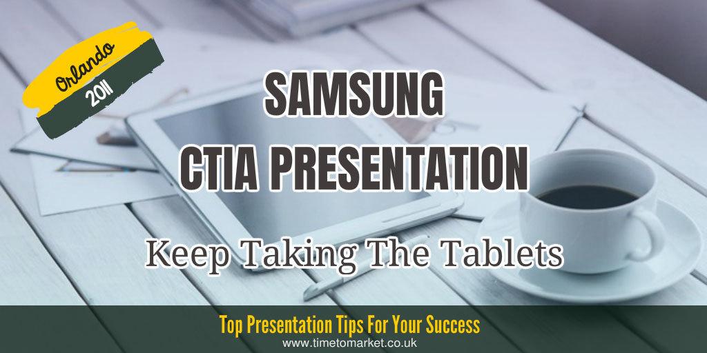 Samsung CTIA presentation