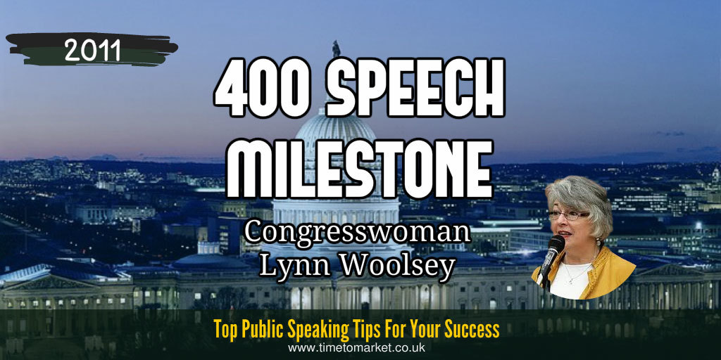 400 speech milestone