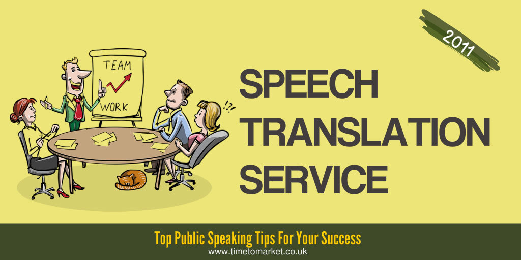 Speech translation service
