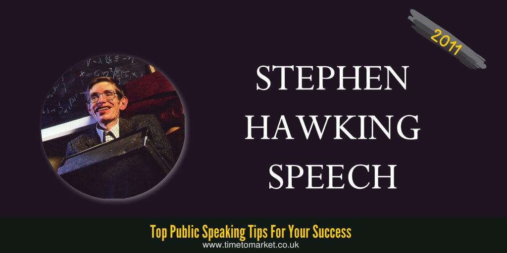Stephen hawking speech