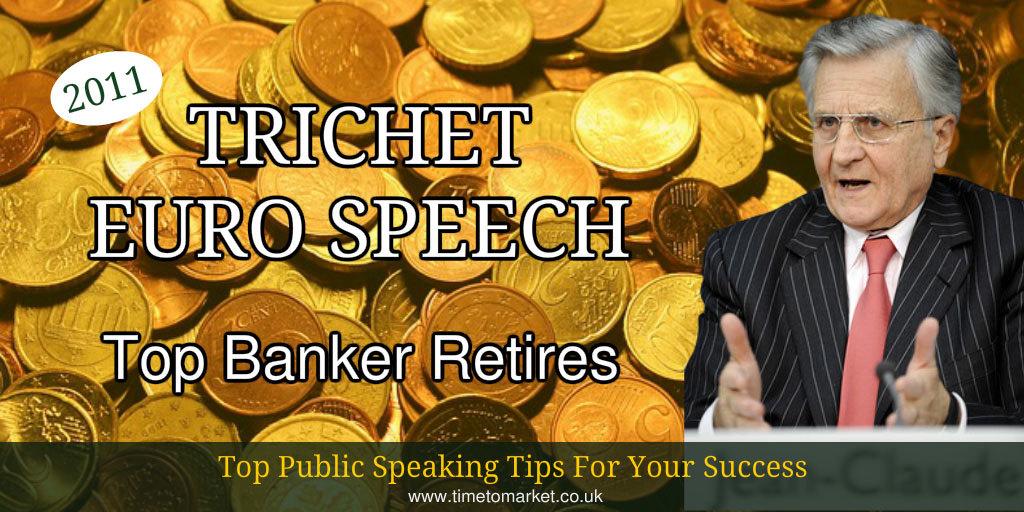 Trichet euro speech