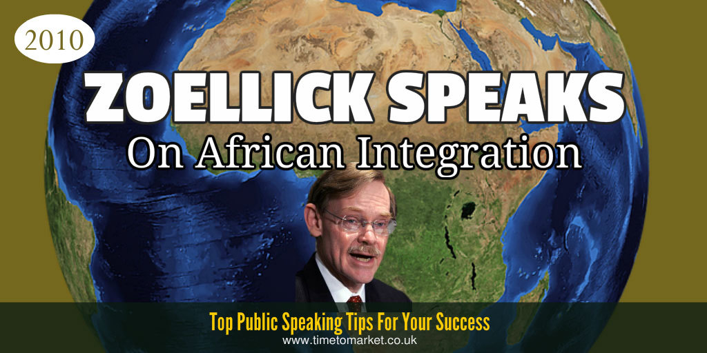 Robert Zoellick speaks