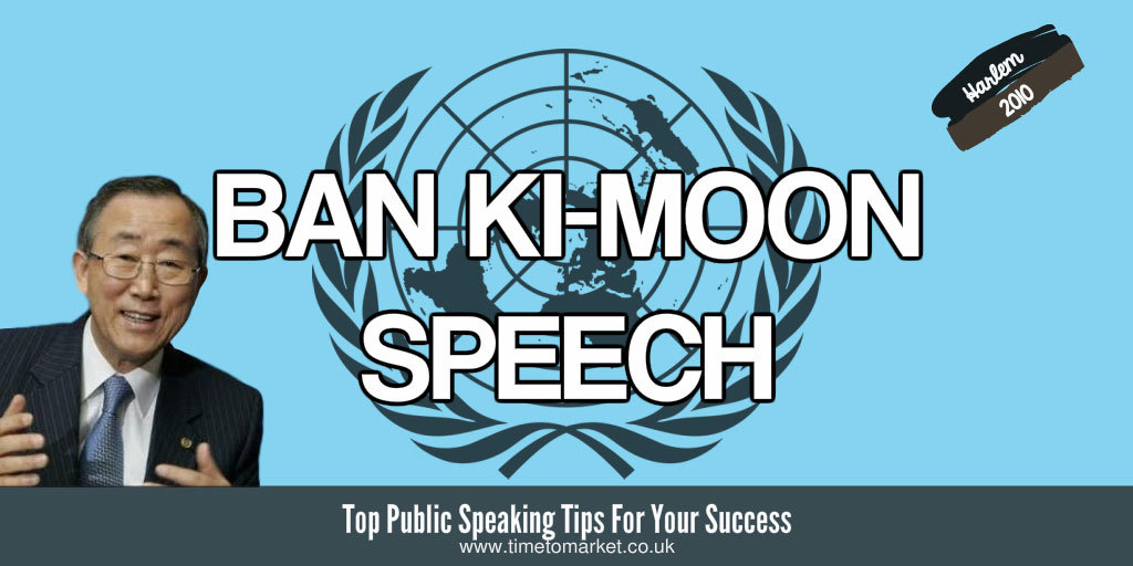 Ban Ki-Moon speech