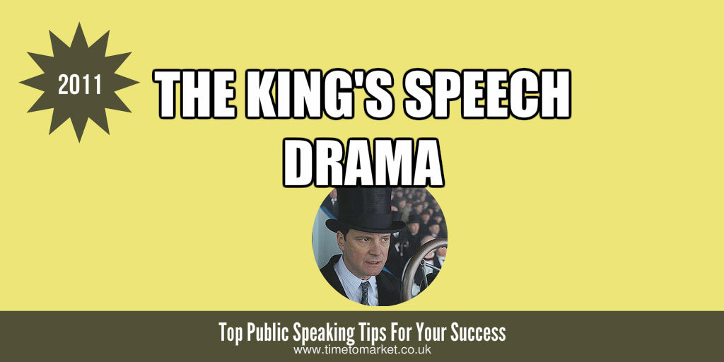 King's speech drama