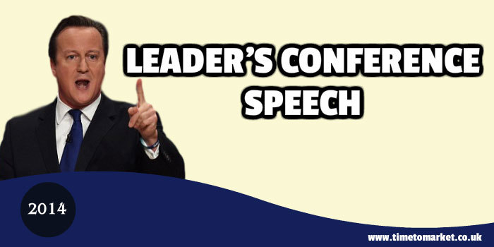 Leader's conference speech