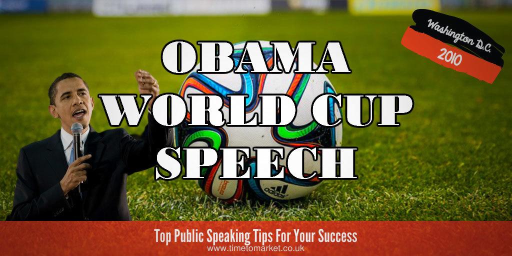Obama world cup speech