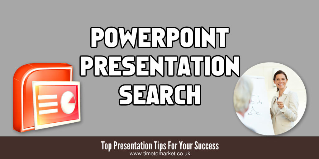 PowerPoint presentation search