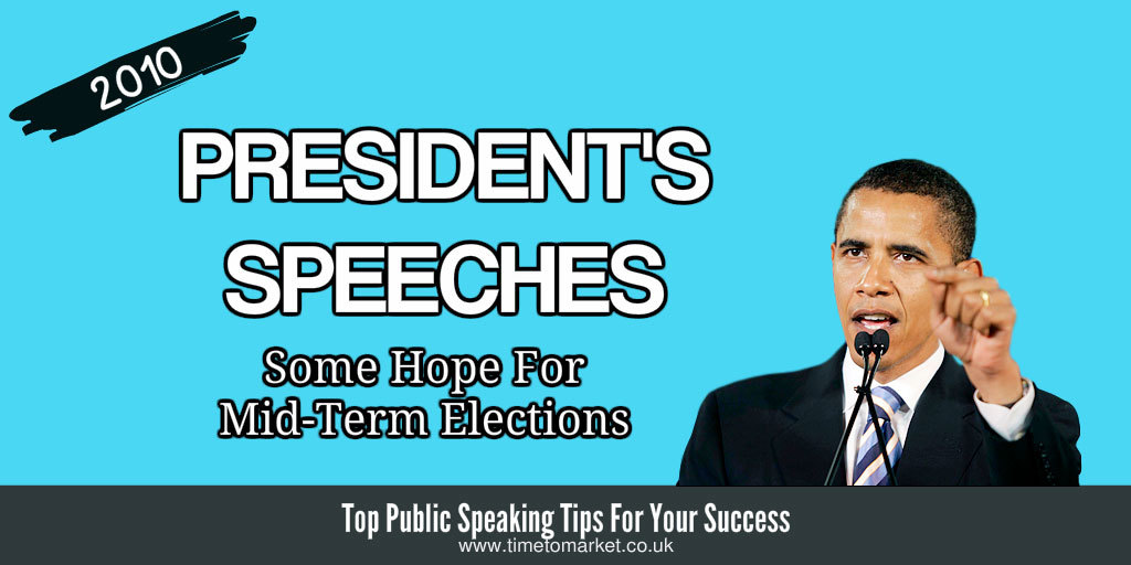President's speeches mid-term