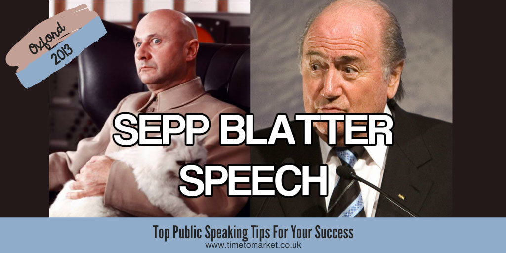 Sepp blatter speech