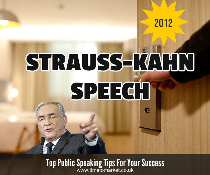 Strauss-Kahn speech