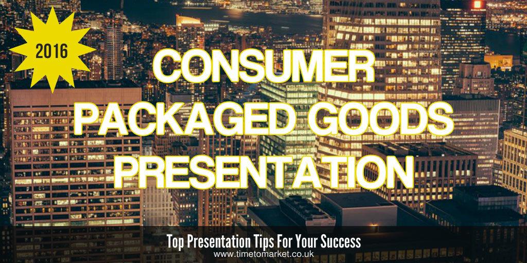 CPG presentation