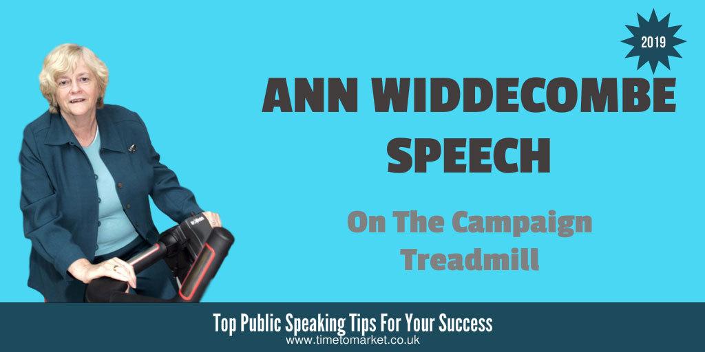 Ann Widdecombe speech