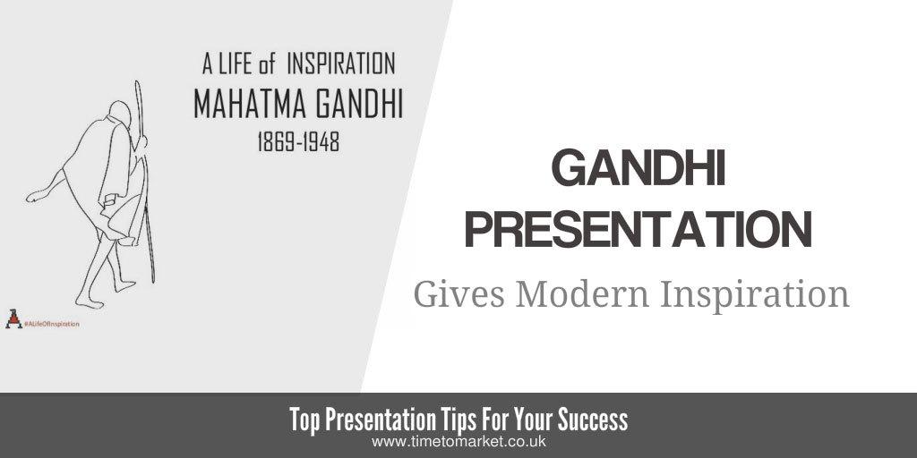 Mahatma gandhi presentation
