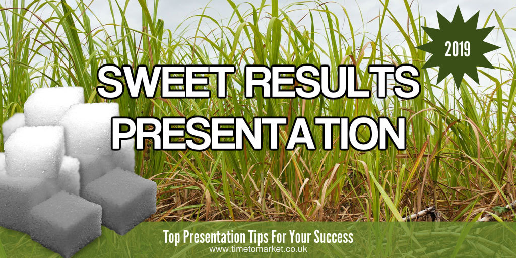 Sweet results presentation