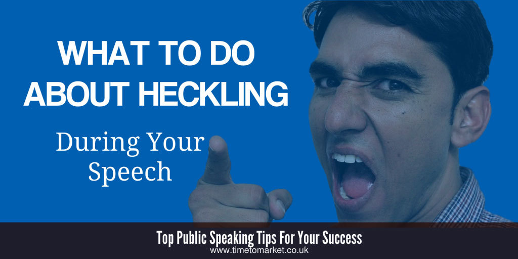What to do about heckling