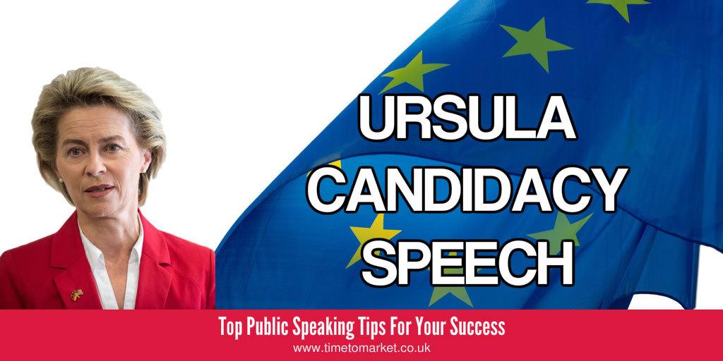 Candidacy speech