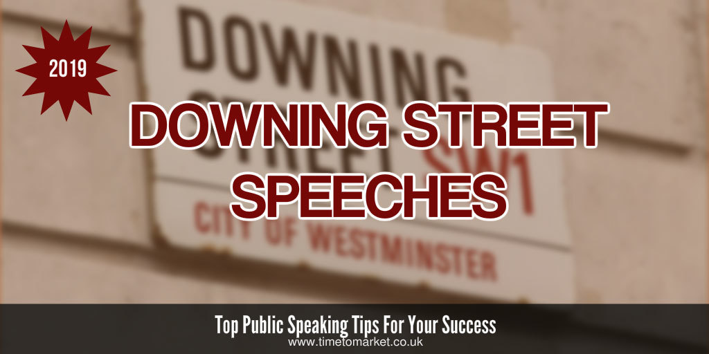 Downing street speeches