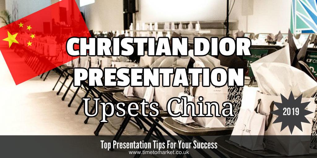 Christian dior presentation
