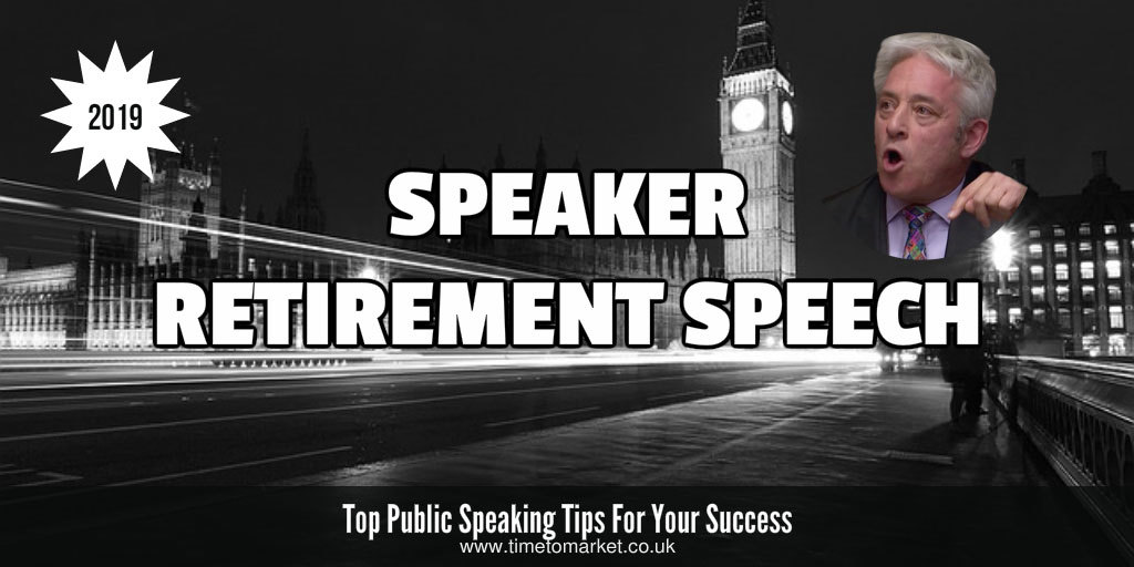 speaker retirement speech