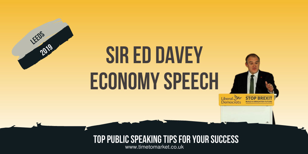 Ed davey economy speech