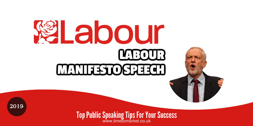 Labour manifesto speech 2019