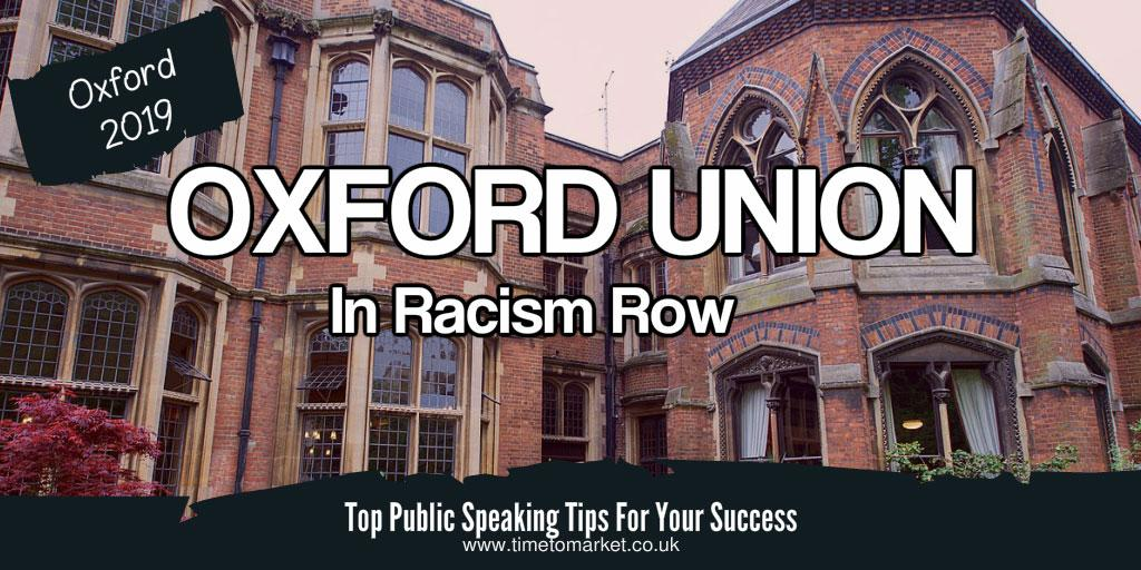 Oxford union audience