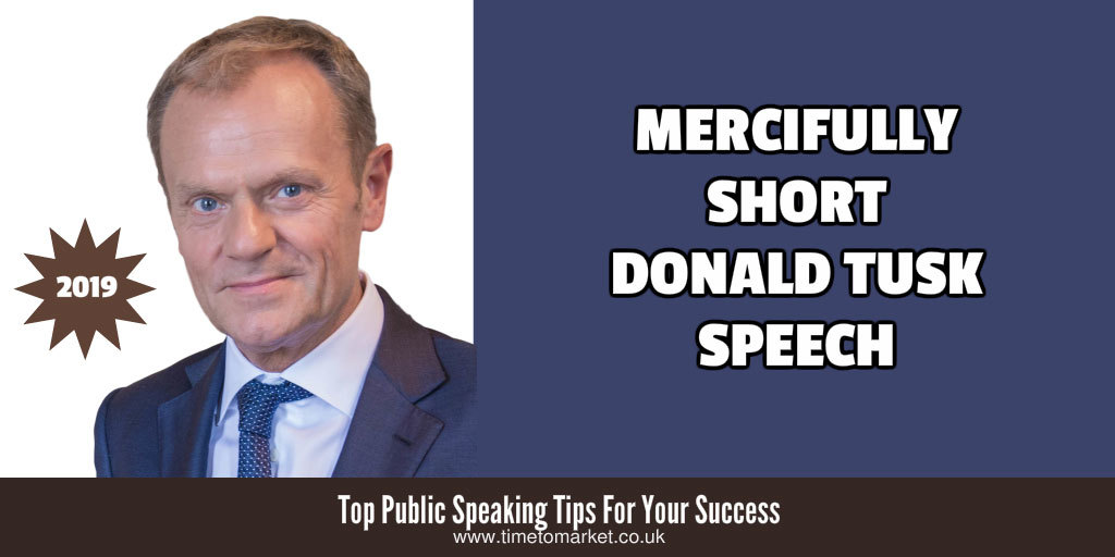 Short donald tusk speech