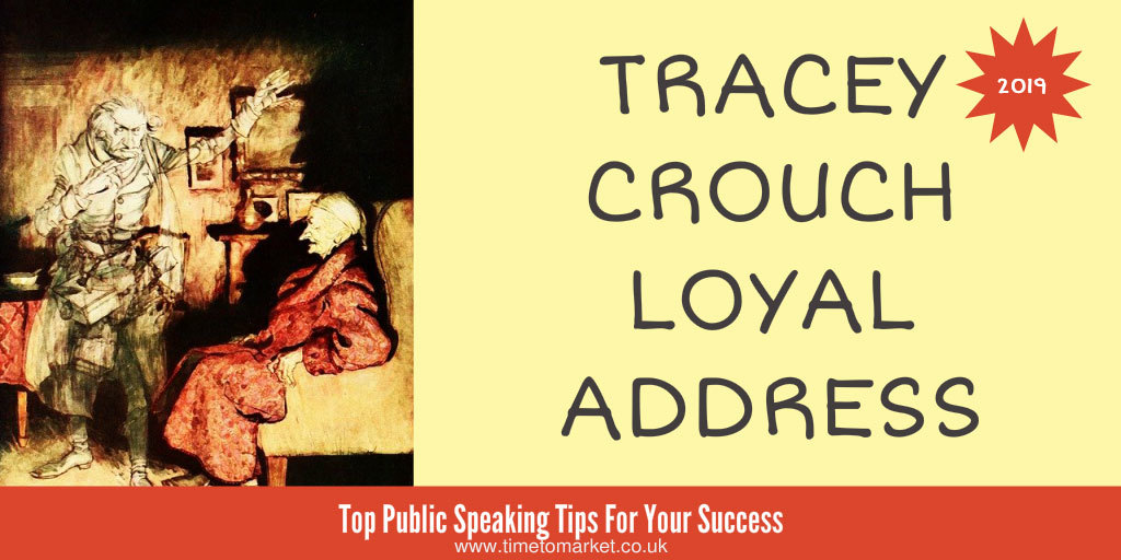 Tracey crouch loyal address