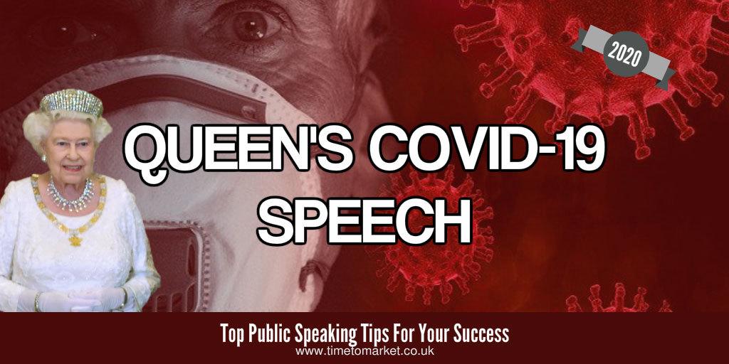 Queen's covid-19 speech