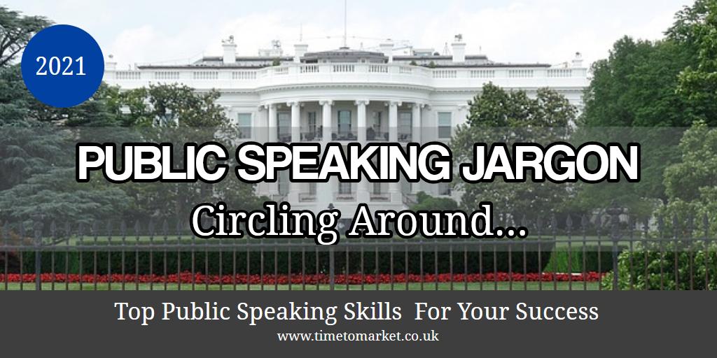 Public speaking jargon
