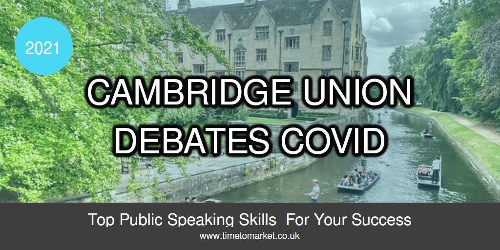 Cambridge union debates lockdown
