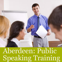 Aberdeen public speaking training course