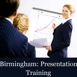Presentation skills training course in Birmingham