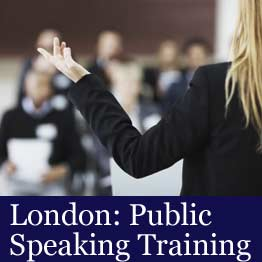 London public speaking course