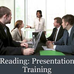 Reading presentation course