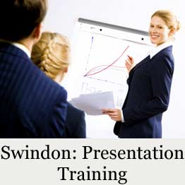 Presentation training course in Swindon