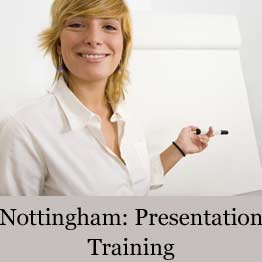 Presentation training course in Nottingham