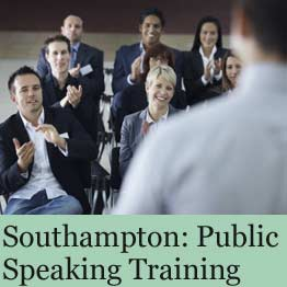 Public speaking training course in Southampton