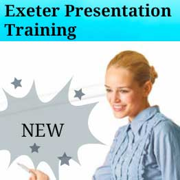 Presentation training course in Exeter