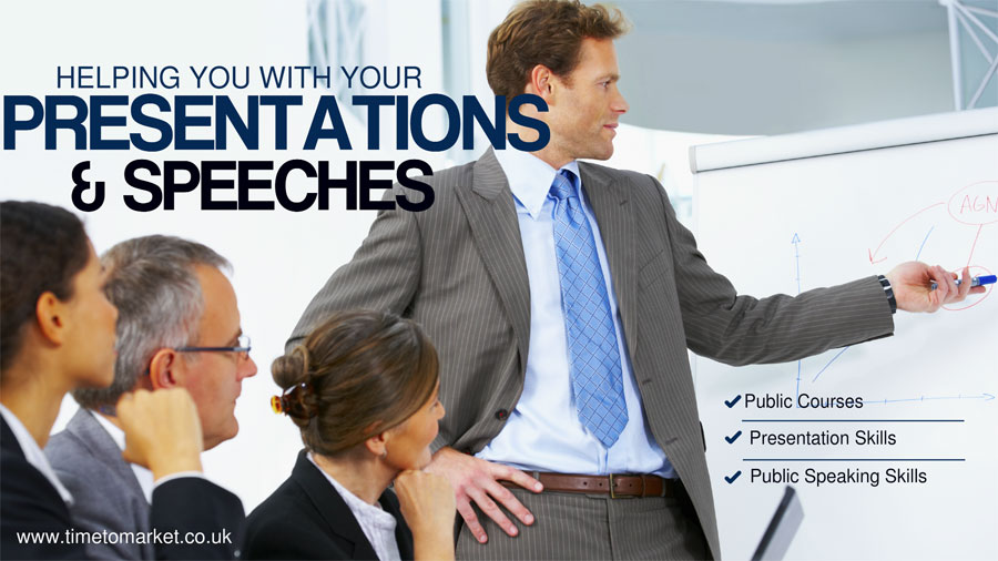 Public presentation training courses
