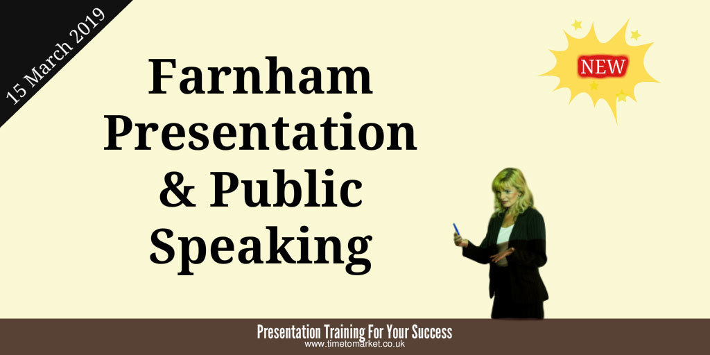 Presentation course in farnham