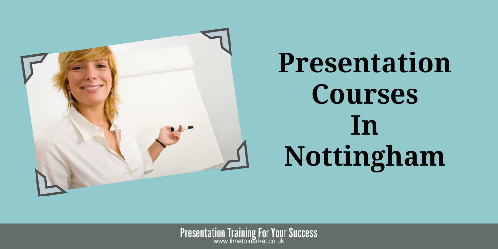 Presentation courses in Nottingham