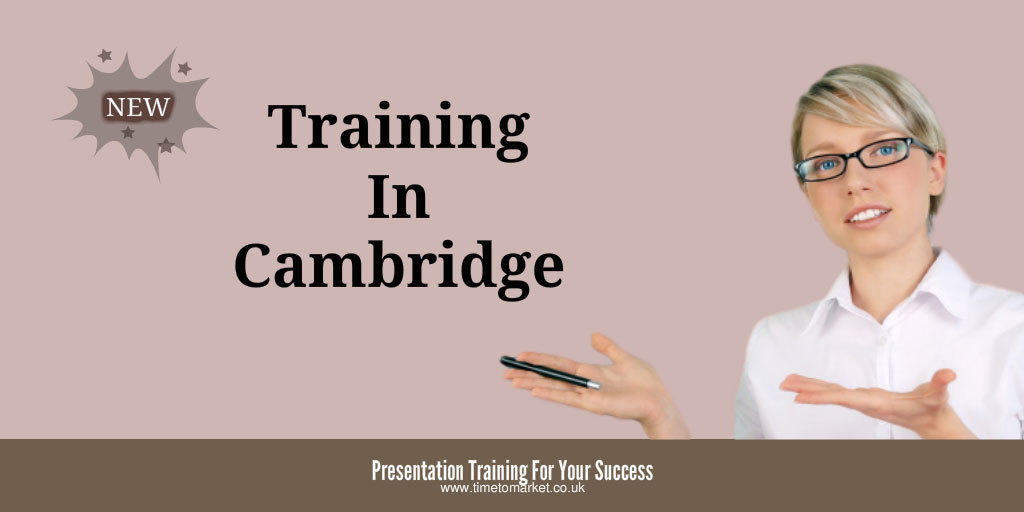 Cambridge presentation training