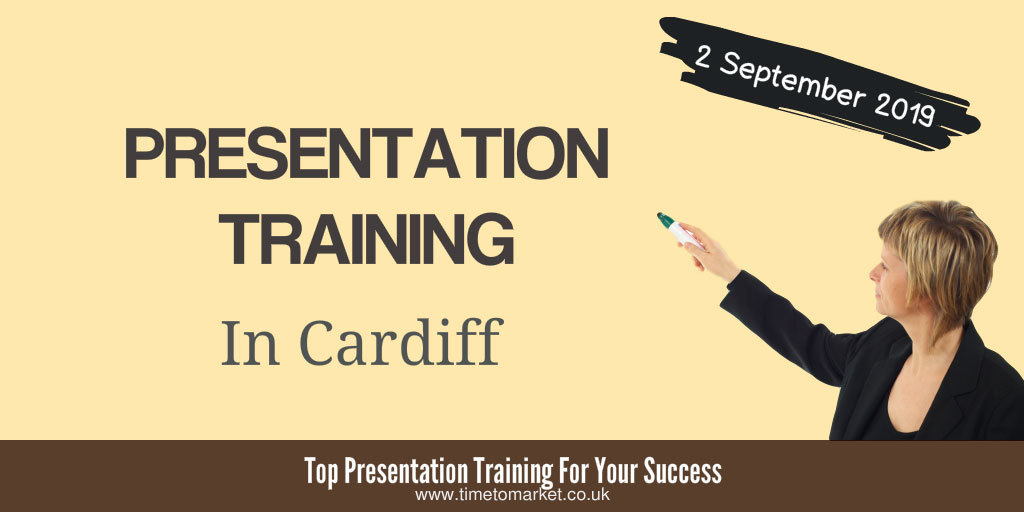 Presentation training in Cardiff