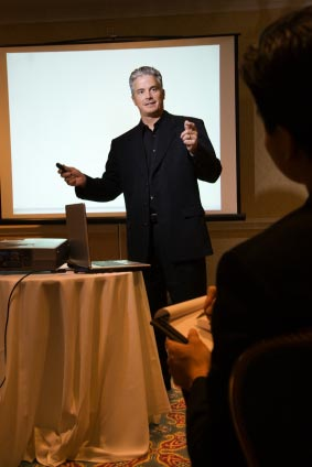 Presentation training in London